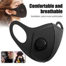Unisex Fashion Washable&Reusable Mask Outdoor Protection Breathable Valve Masks