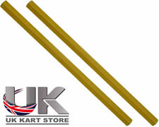 Track / TIRANTE 250mm x M8 esagonale oro x 2 uk kart Store