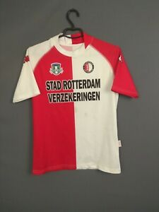 Feyenoord Jersey 2003/04 Home Kids Boys YXXL Shirt Football Soccer Kappa ig93