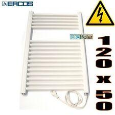 Scaldasalviette Termoarredo elettrico Bianco H 120 x L 50 cm 500 W Tekno ERCOS