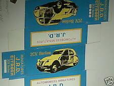 REFABRICATION BOITE CITROEN 2CV BERLINE 1955 JRD
