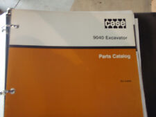 Case 9040 Excavator Parts Manual