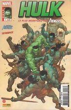 HULK N° 3 Marvel France 3ème Série Panini LE PLUS INCROYABLE DES AVENGERS