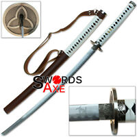 Japanese Walking Samurai Katana Dead Slayer Carbon Steel Replica Sword Cosplay