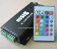 12V 10A MUSIC SOUND CONTROLLER PER RGB LED striscia luci