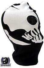 'medelin' 2 Hole Zorro Ninja Mask Fancy Dress Costume Hood 1 Size Senior