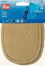 Prym Patches Cord Can Be Ironed 10 X 14cm Beige 929323