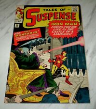Tales of Suspense #50 NM+ 9.6 White pgs 1964 Marvel Iron Man 1st Mandarin app.