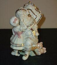 Lenox China Jewels Santa Please Figurine 7th In Series with Original Box - EUC!!
