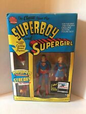 DC DIRECT Superboy and Supergirl Set Krypto & Steaky Included UNOPENED