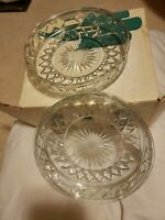 Vintage PARTYLITE Crystal Candle Holder Sampler PO170 / Original Box