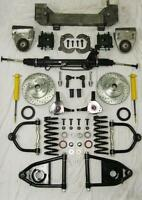 1949-1954 Chevy Car Mustang II Bolt On Power Front End Suspension Kit IFS Stock