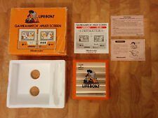 1983 Rare!! NINTENDO GAME AND WATCH - LIFEBOAT  boxed+Papers!!!