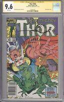 Thor #364 CGC 9.6 SIGNED Walt Simonson (Marvel 1986) 1st Throg (Puddlegulp Frog)