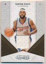 BARON DAVIS 2010/11 TIMELESS TREASURES CLIPPERS RELIC GAME JERSEY SP #93/100  C4