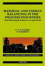 Material and Energy Balancing in the Process In, Veverka, Madron.=