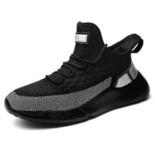 Men's Big Size Running Shoes Casual Walking Breathable Lightweight Sports Shoes