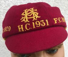 More details for vintage circa 1929 -1931 school sporting cricket football hockey cap uk size 7