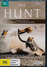 The Hunt DVD NEW 3-disc narrated by David Attenborough Region 4