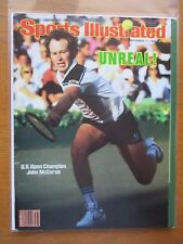 1984 Sports Illustrated JOHN McENROE Wins His Fourth U.S. Open Title!  NO LABEL