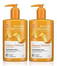 Avalon Organique Intense Défense Vitamine C démaquillage lait 250ml (paquet de