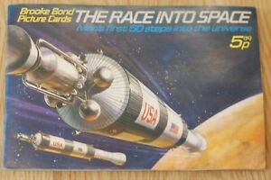 The Race into Space - Brooke Bond Picture Cards