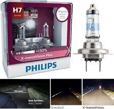 Philips X-Treme Vision Plus 130% H7 55W Two Bulbs Head Light High Beam Plug Play