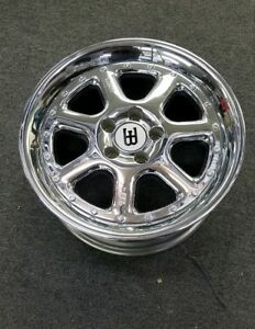 BBS BUGATTI 17 X 8 ET35  chrome part # 7207001 hard to find display wheel rim