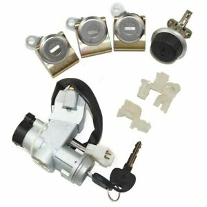 For Suzuki SJ410 SJ413 Samurai Ignition Switch Steering Door Glove Box Lock @Vi