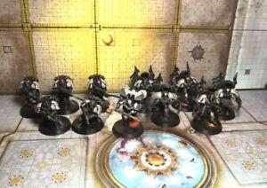 Raven Guard Mor Deythan Dark Fury squad and Korvydae painted pack Warhammer 40k