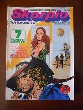 SKORPIO n°32 1978 Ed. Eura   [G602] - con Poster allegato