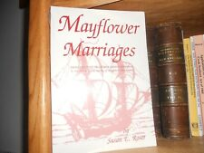 Mayflower Marriages Genealogy Book