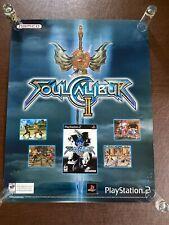 Vintage 2003 PlayStation PS2 Soul Calibur II ToysRus Store Display Sign Poster