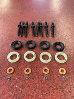 C-MAX 1.6 TDCI 03-10 4 x INJECTOR SEALS+ PROTECTORS + WASHERS + O RINGS+8 STUDS