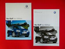 Prospekt / Katalog / Brochure mit Preisliste VW Golf V (5) Tour Edition  05/07