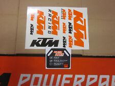 KTM Dekor Aufkleber Sticker SX EXC SX-F EGS EXE LC2 LC4 LC8 SMC SMR SXS EXC-R