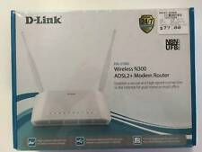 D-Link Wireless N300 ADSL2  Modem Router