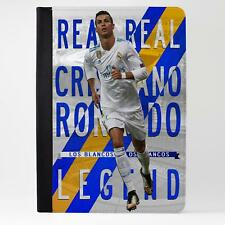 Ronaldo Real Madrid iPad Funda piel cubierta de la tableta de fútbol Legend LG18