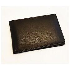 flache Geldbörse Vollleder Büffelleder RFID-Blocker Ven Tomy 811 BH ohne Münzen