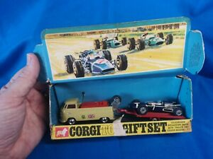 Boxed CORGI Gift Set 6 VW Volkswagen Breakdown & Cooper MASERATI F1 Racing Model