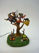 Lemax Halloween Spooky Town, Carpooling Witches, Lighted, Animated (h1539)