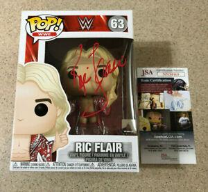 Ric Flair Signed WWE Funko Pop #63 JSA COA Autograph Auto