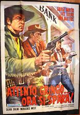 Poster Original careful Gringo now shoots 65 Tumba de El Pistolero
