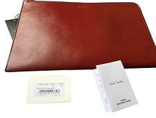 "PAUL SMITH Saffiano Cuero DOCUMENTO Bolsa / 11"" MacBook Aire Estuche / iPad"
