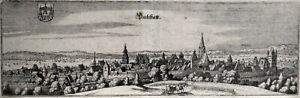 Umstadt - Dieburg, Hessen, Kupferstich um 1650