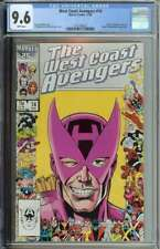 West Coast Avengers #14 CGC 9.6 Hawkeye Picture Frame