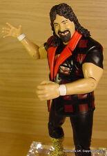 WWE TNA JAKKS Classic Superstars CACTUS JACK Mick Foley Mankind Wrestling figure