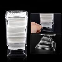 Holder Box Cosmetic Organizer Nail Polish Wipe Rack Makeup Cotton Pad Case