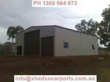 SHEDS 18x12x4.2 INDUSTRIAL SHED COLORBOND SHED GARAGE TOOWOOMBA
