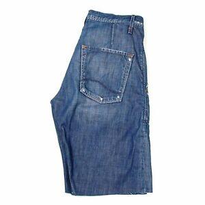 08704 Lee Chaplin Hommes Bleu Short en Taille 31